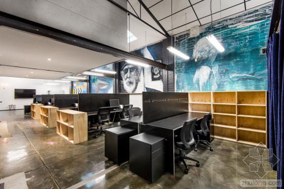 外企loft风格办公室装修设计案例